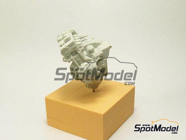 Image 13: Suter MMX 600cc Moto2 -  2010 | Model bike kit in 1/12 scale manufactured by BolidItalia Bikes Models (ref.BLDTL-FK01)