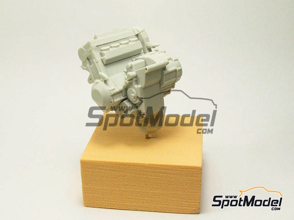Image 14: Suter MMX 600cc Moto2 -  2010 | Model bike kit in 1/12 scale manufactured by BolidItalia Bikes Models (ref.BLDTL-FK01)