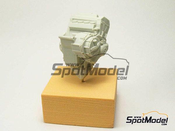 Image 15: Suter MMX 600cc Moto2 -  2010 | Model bike kit in 1/12 scale manufactured by BolidItalia Bikes Models (ref.BLDTL-FK01)