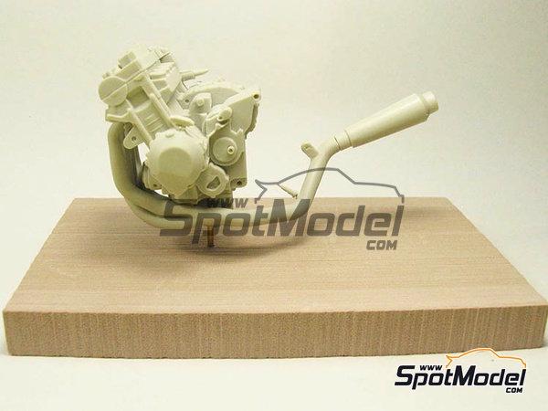 Image 17: Suter MMX 600cc Moto2 -  2010 | Model bike kit in 1/12 scale manufactured by BolidItalia Bikes Models (ref.BLDTL-FK01)
