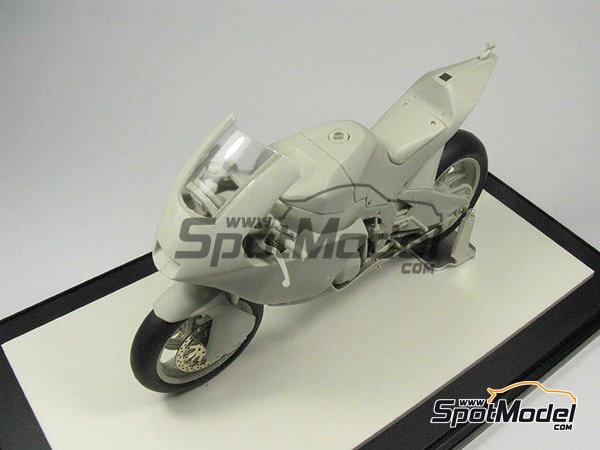 Image 23: Suter MMX 600cc Moto2 -  2010 | Model bike kit in 1/12 scale manufactured by BolidItalia Bikes Models (ref.BLDTL-FK01)