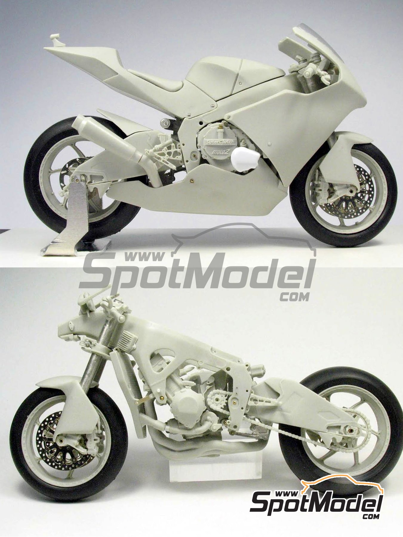 Suter MMX 600cc Moto2 Suter Racing -  2010 | Model bike kit in 1/12 scale manufactured by BolidItalia (ref.BLDTL-FK01) image