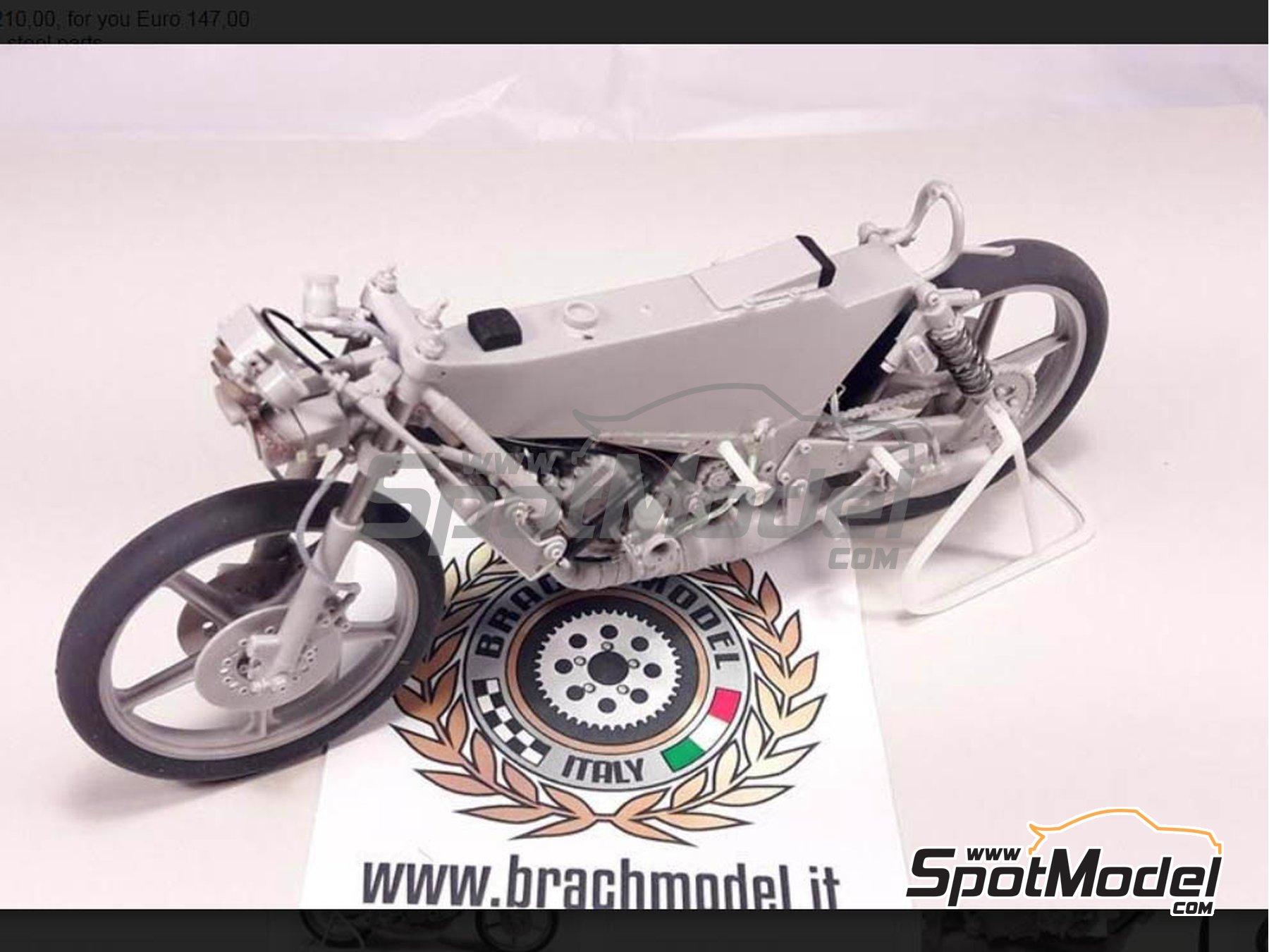 Image 16: Minarelli 125cc - Motorcycle World Championship 1981 | Model bike kit in 1/12 scale manufactured by Brach Model (ref.BM-VR05)