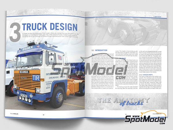 Image 3: The complete guide to Truck Modelling | Book manufactured by Canfora (ref. 9789198232530)