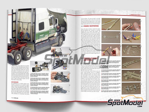 Image 4: The complete guide to Truck Modelling | Book manufactured by Canfora (ref. 9789198232530)