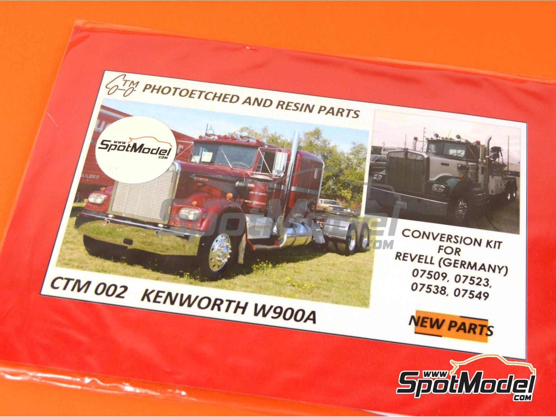 Image 1: Kenworth W900 | Fotograbados en escala1/25 fabricado por Czech Truck Model (ref.CTM002)