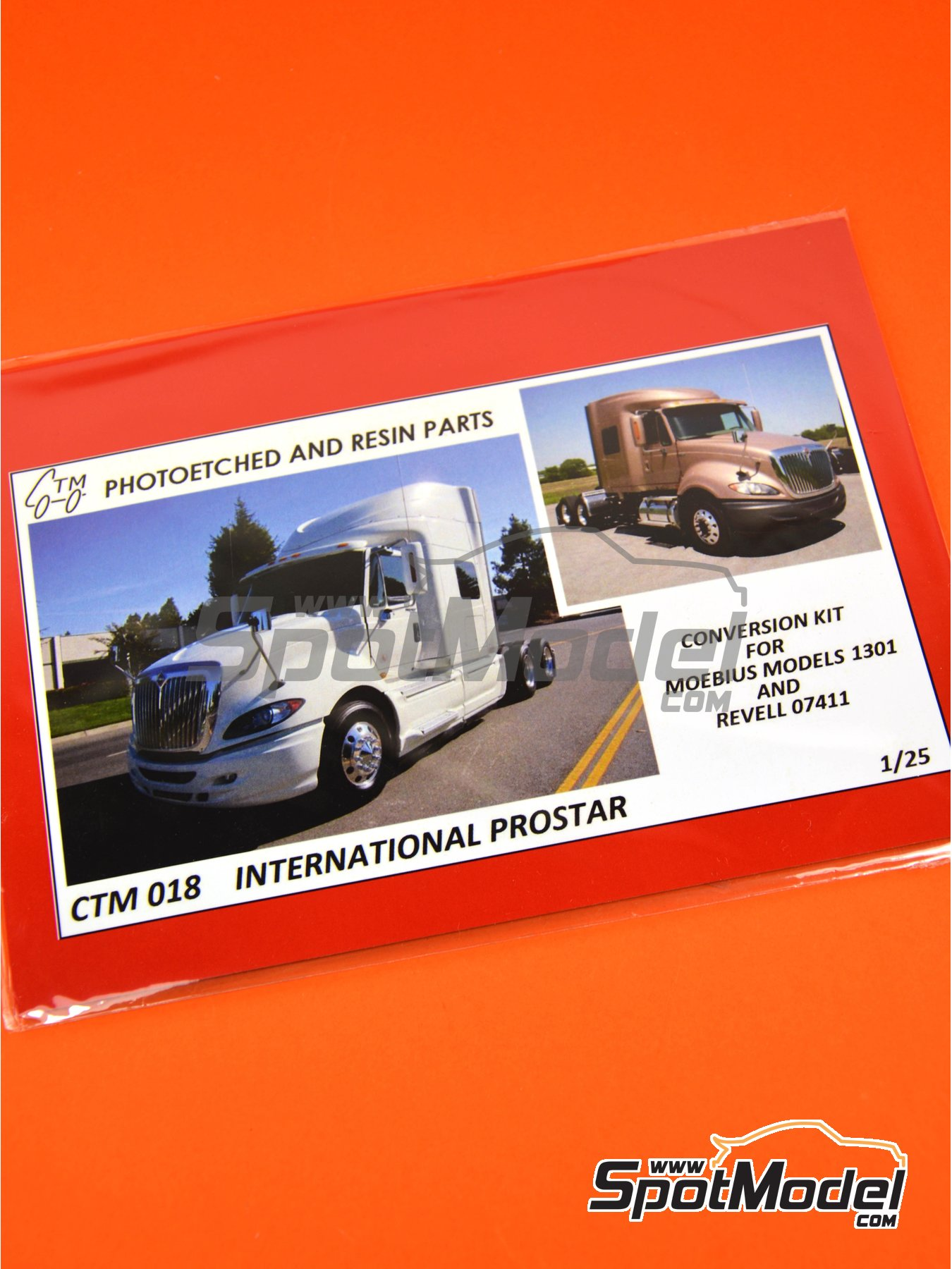 International Prostar | Set de mejora y detallado en escala 1/25 fabricado por Czech Truck Model (ref. CTM018) image