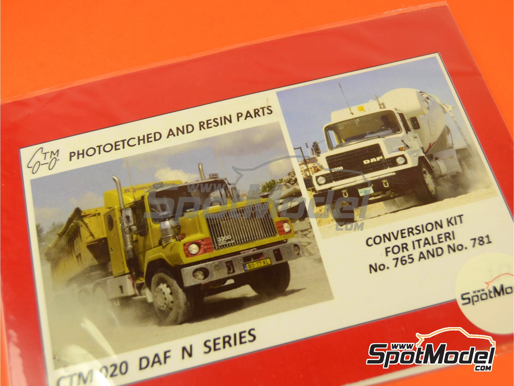 Image 5: DAF N | Detail up set in 1/24 scale manufactured by Czech Truck Model (ref. CTM020)