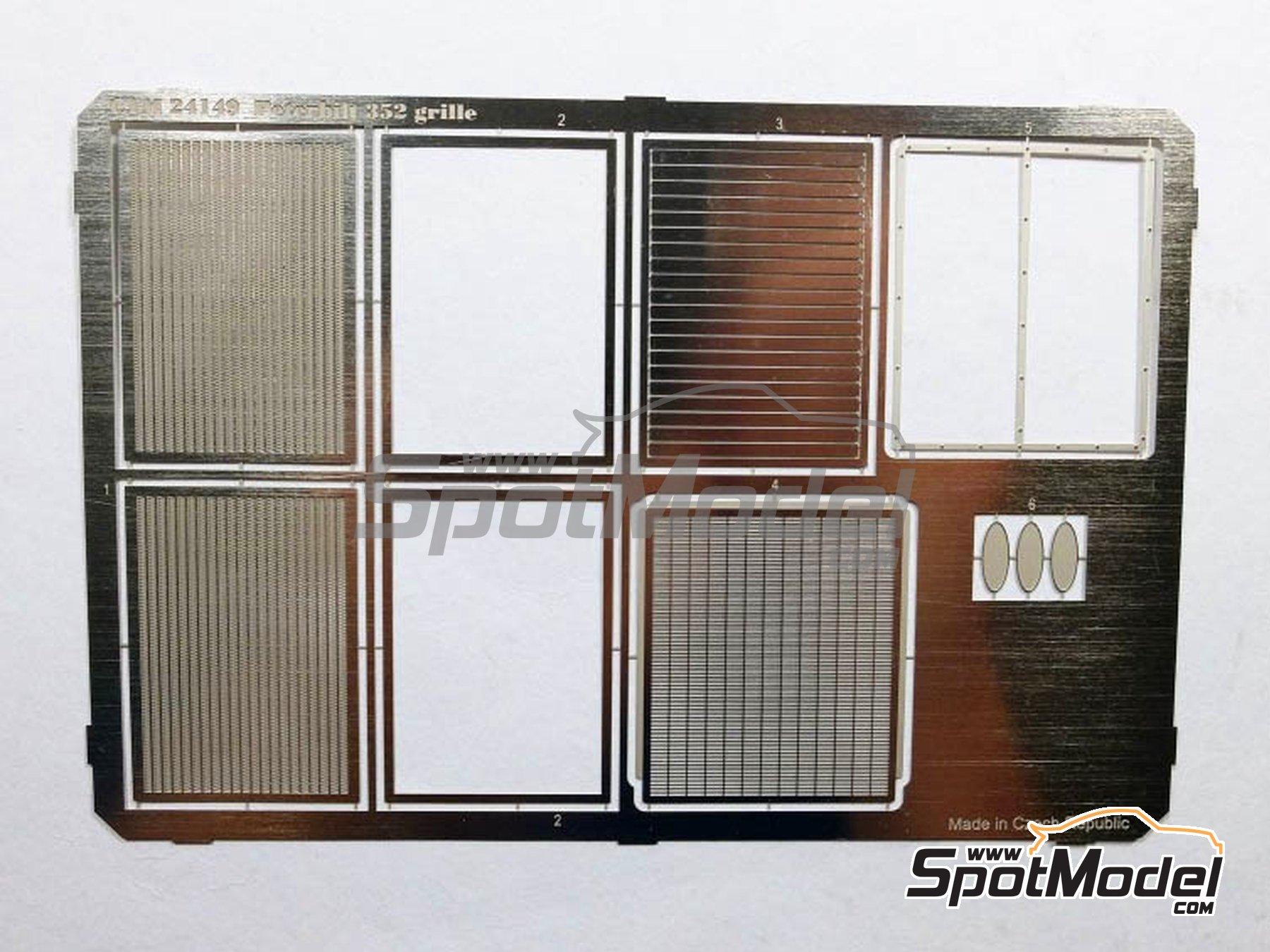 Image 5: Peterbilt 352 | Set de mejora y detallado en escala1/25 fabricado por Czech Truck Model (ref.CTM030)