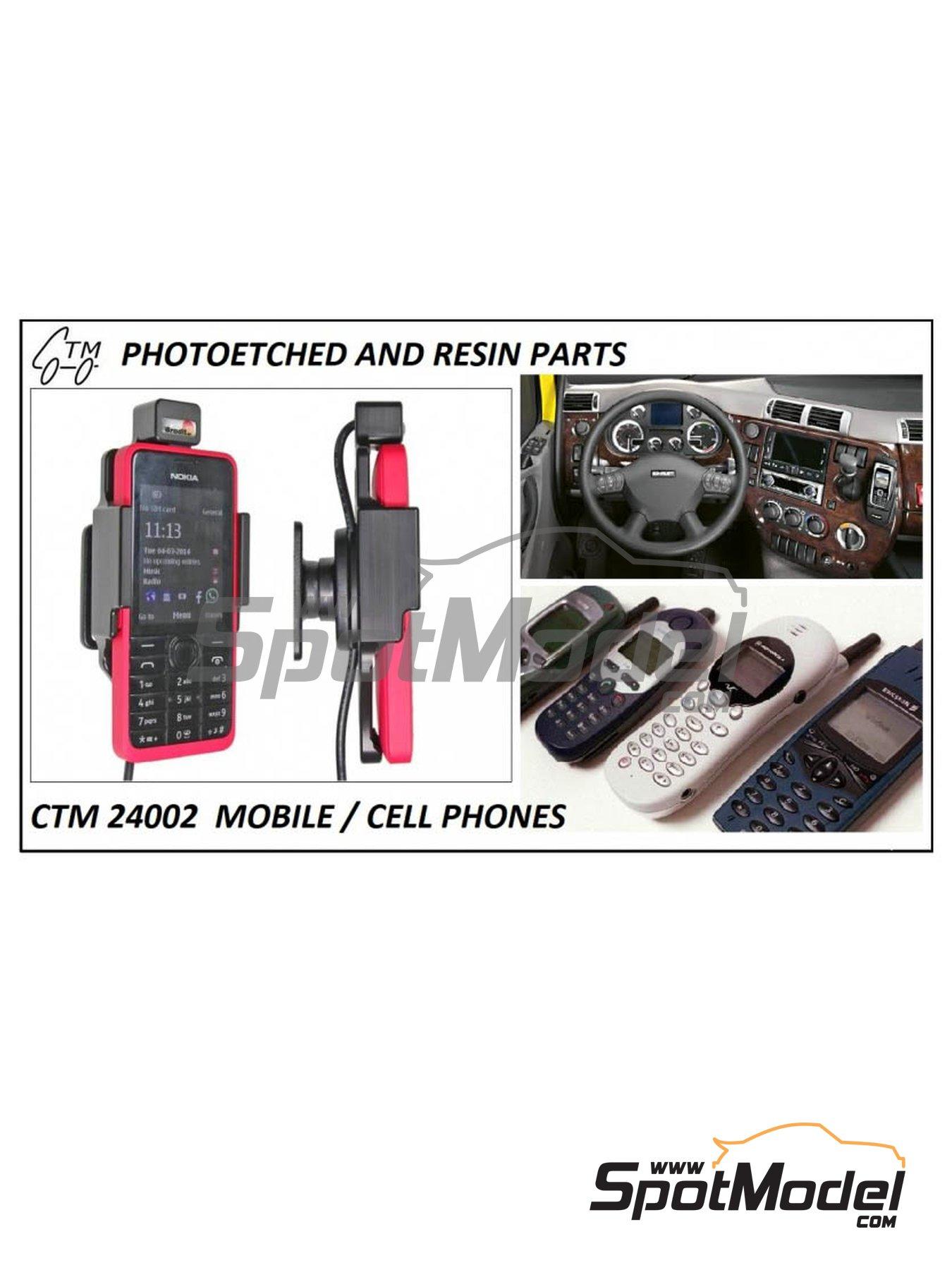 Teléfonos móviles | Detalle en escala1/24 fabricado por Czech Truck Model (ref.CTM24002) image