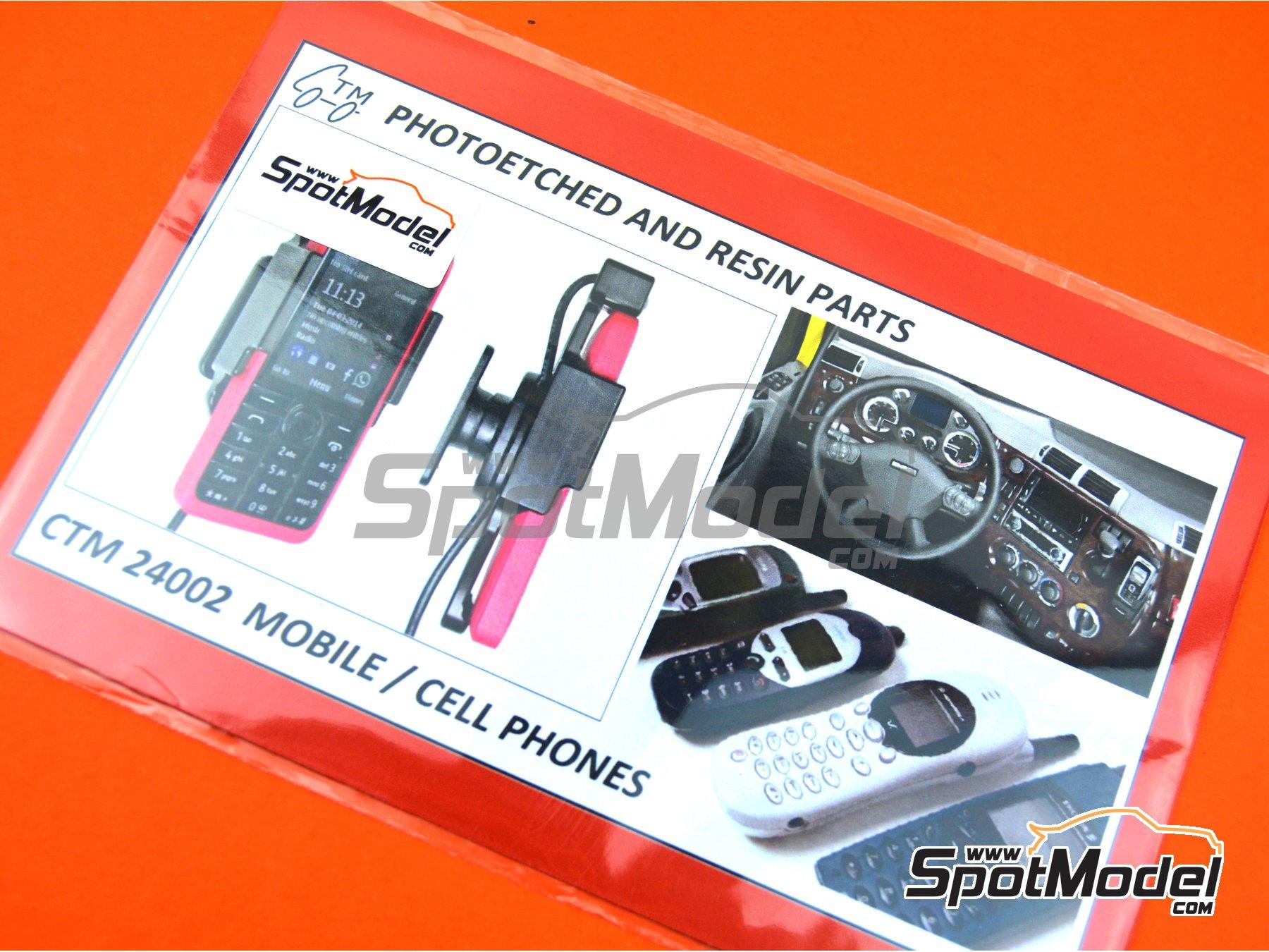 Image 5: Teléfonos móviles | Detalle en escala1/24 fabricado por Czech Truck Model (ref.CTM24002)