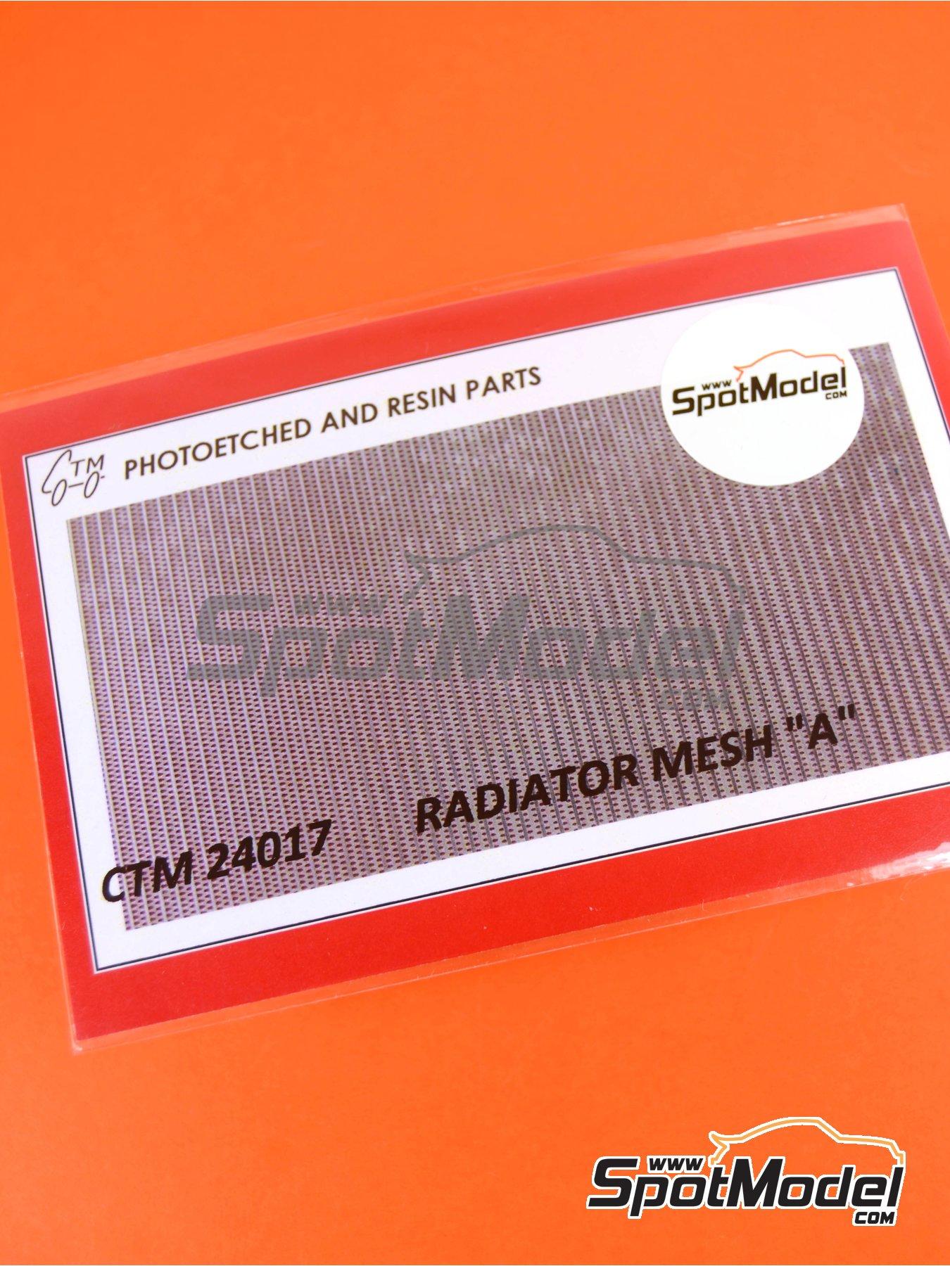 Rejilla de radiador   Rejilla en escala1/24 fabricado por Czech Truck Model (ref.CTM24017) image