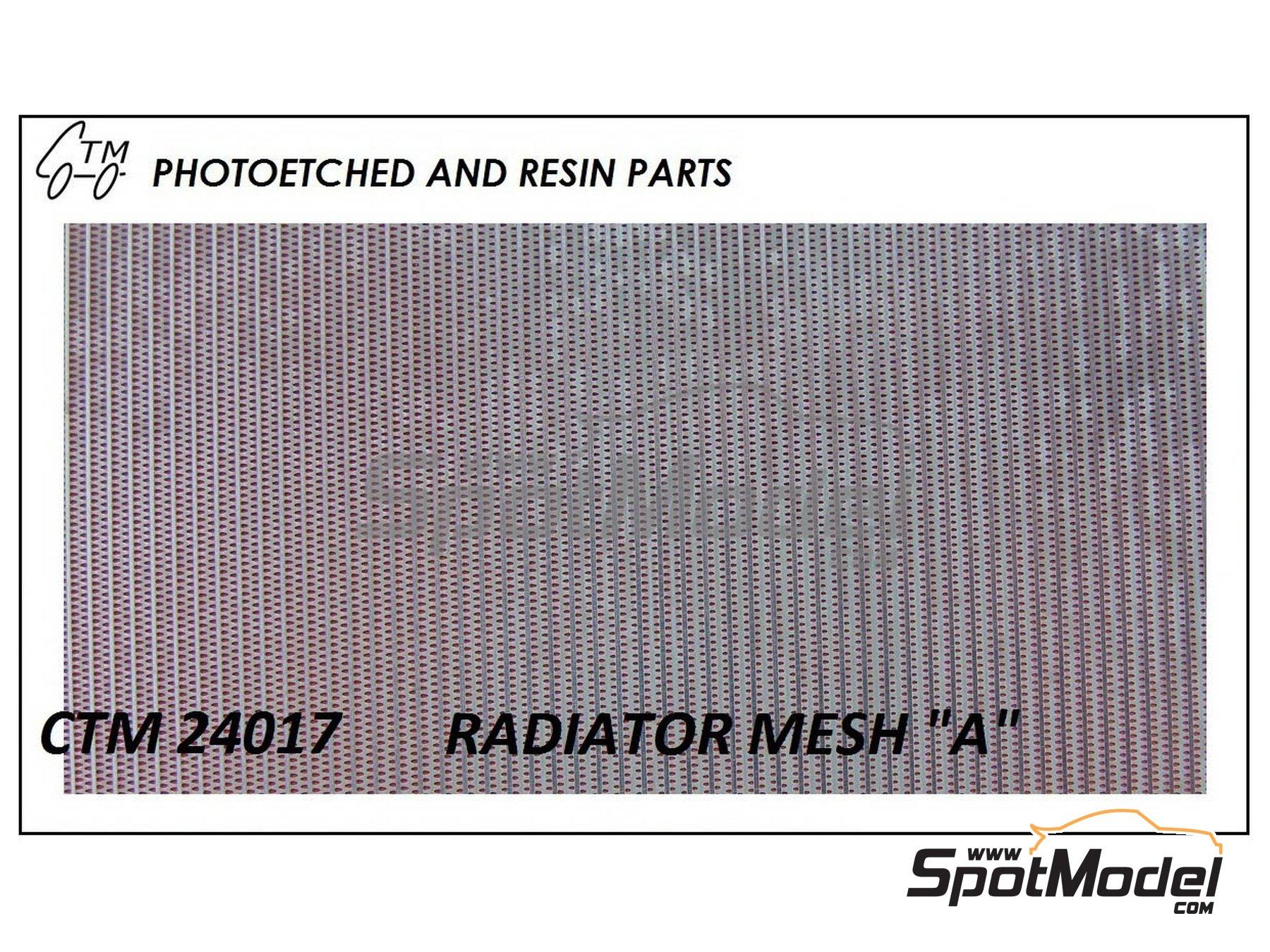 Image 1: Rejilla de radiador   Rejilla en escala1/24 fabricado por Czech Truck Model (ref.CTM24017)