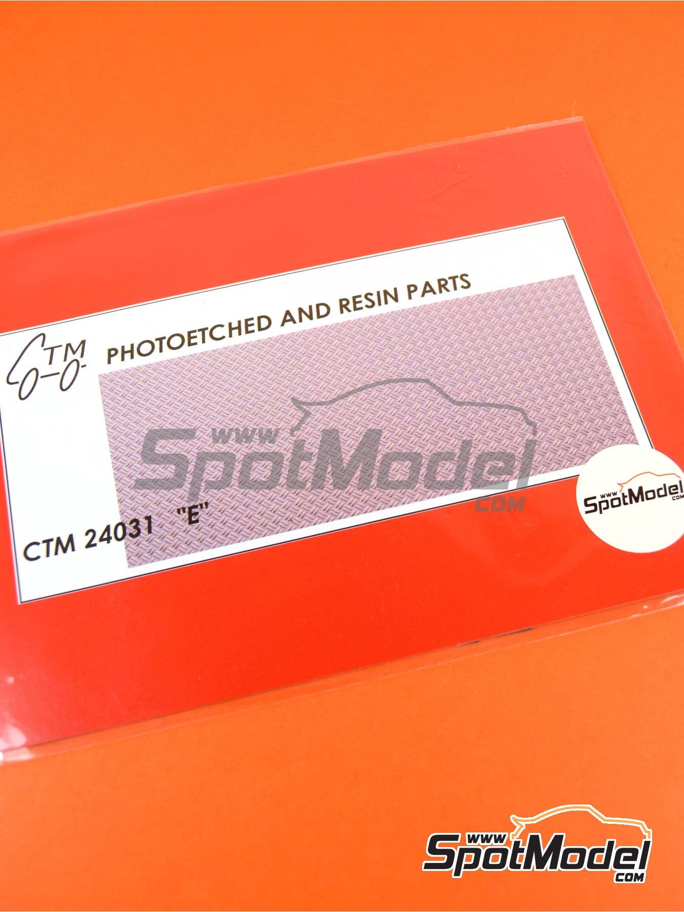 Chapa anti deslizante   Chapa texturizada en escala1/24 fabricado por Czech Truck Model (ref.CTM24031) image