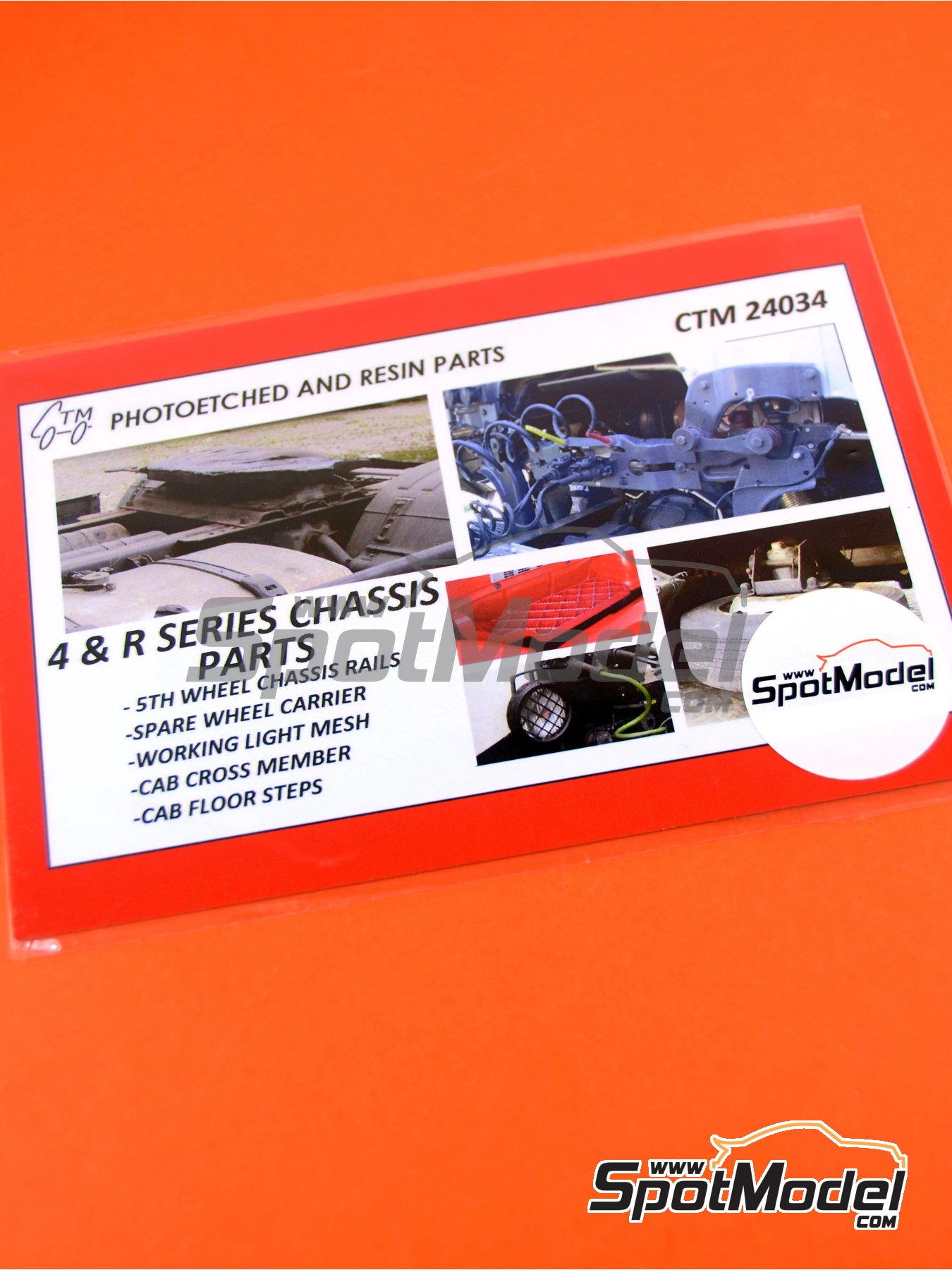 Scania 4 series and R series | Detail up set in 1/24 scale manufactured by Czech Truck Model (ref.CTM24034) image