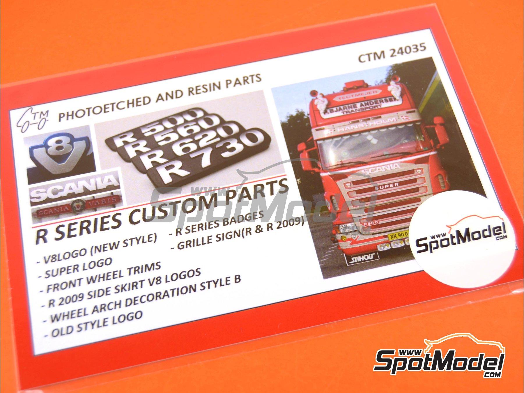 Image 3: Scania R series | Set de mejora y detallado en escala1/24 fabricado por Czech Truck Model (ref.CTM24035)