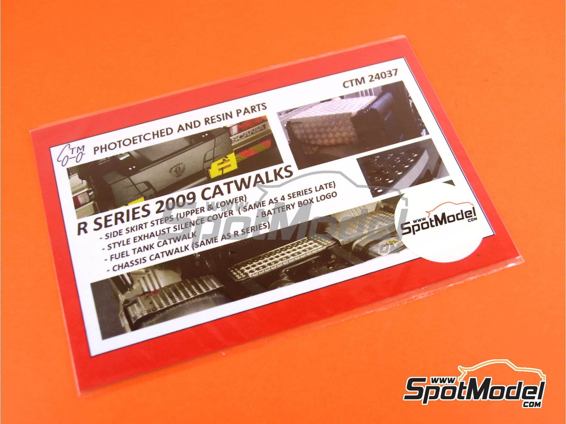 Image 4: Scania R series -  2009   Catwalks in 1/24 scale manufactured by Czech Truck Model (ref.CTM24037)