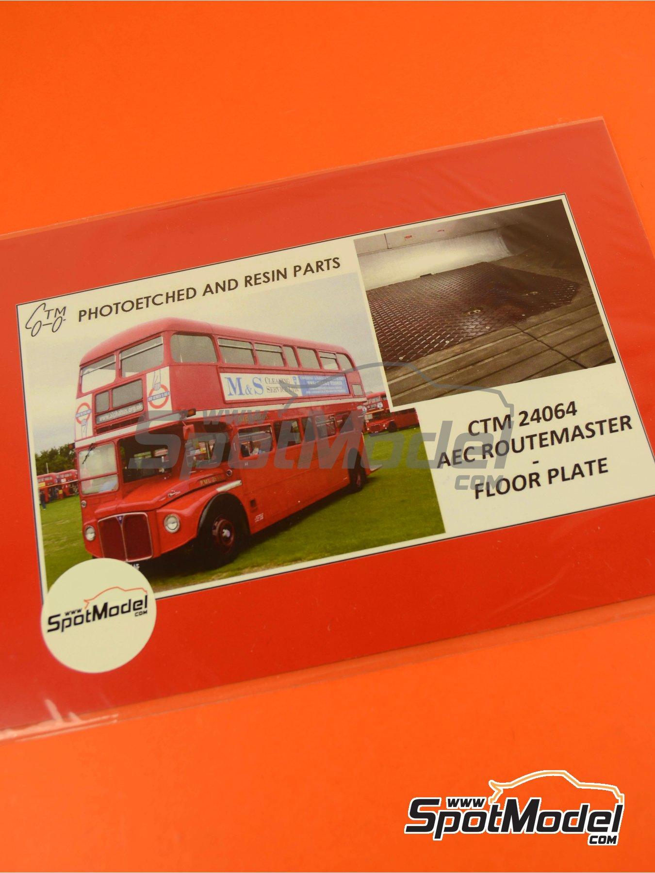 Routermaster bus de Londres | Fotograbados en escala1/24 fabricado por Czech Truck Model (ref.CTM24064) image