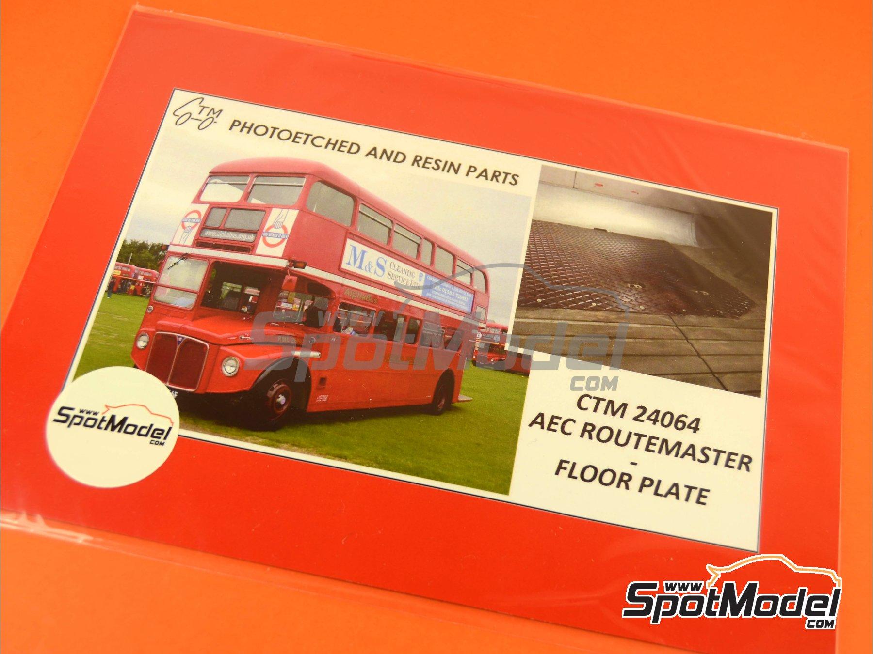 Image 4: Routermaster bus de Londres | Fotograbados en escala1/24 fabricado por Czech Truck Model (ref.CTM24064)