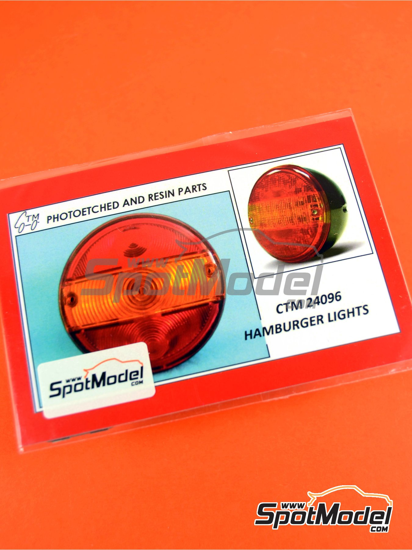 Hamburger lights | Lights in 1/24 scale manufactured by Czech Truck Model (ref. CTM24096) image