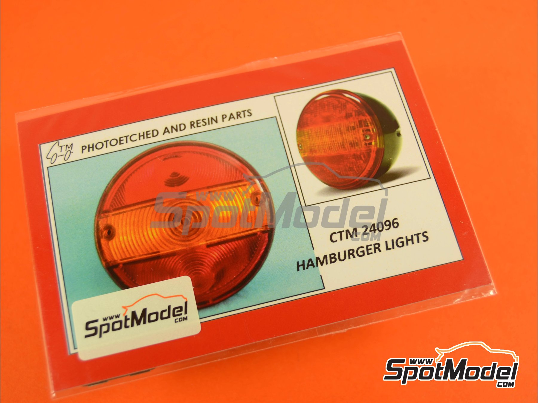 Image 5: Hamburger lights | Lights in 1/24 scale manufactured by Czech Truck Model (ref. CTM24096)