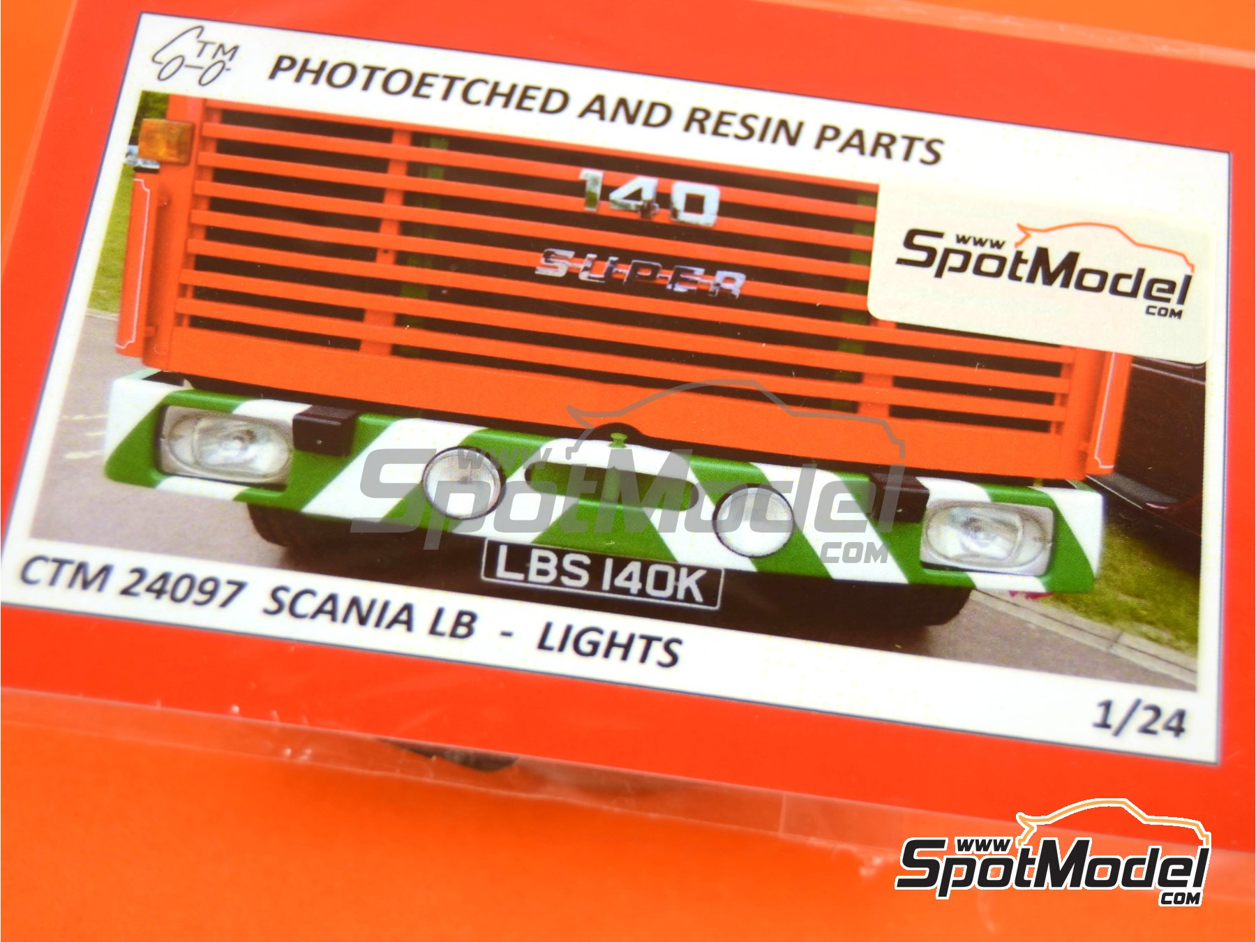 Image 4: Scania LB 110 and LB 140 | Lights in 1/24 scale manufactured by Czech Truck Model (ref. CTM24097)