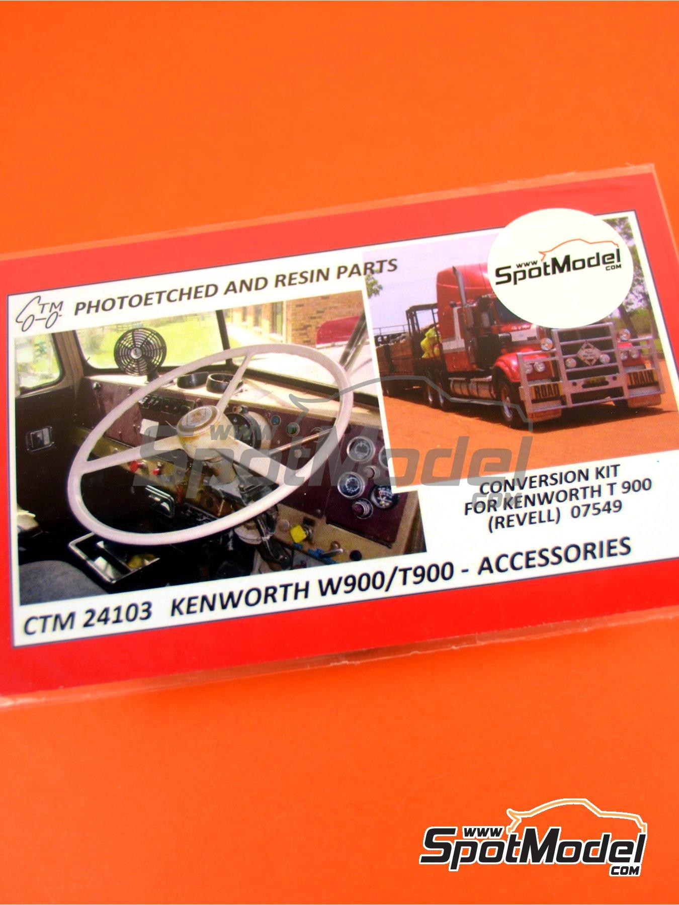 Kenworth T900   Fotograbados en escala1/25 fabricado por Czech Truck Model (ref.CTM24103) image
