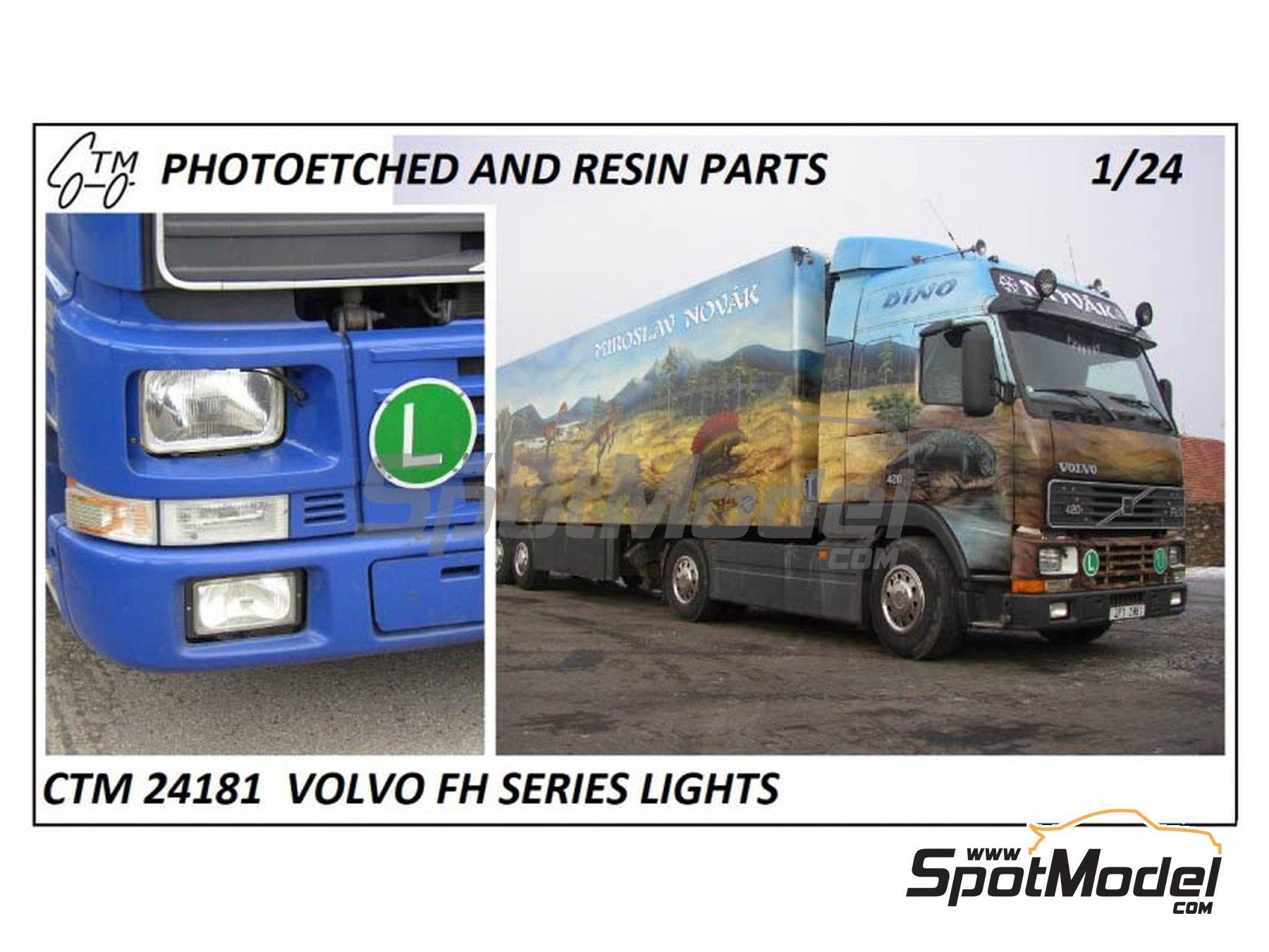 Image 1: Volvo FH12 / FH16 | Luces en escala1/24 fabricado por Czech Truck Model (ref.CTM24181)