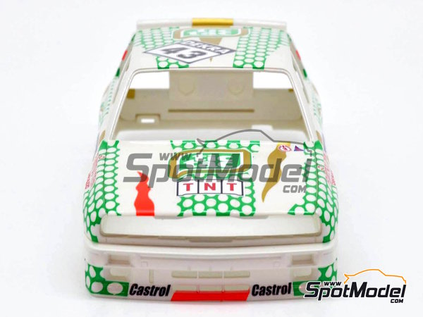 Image 4: BMW M3 E30 - DTM 1991 | Marking in 1/24 scale manufactured by Decalcas (ref. DCL-DEC005)