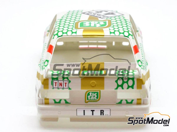 Image 5: BMW M3 E30 - DTM 1991 | Marking in 1/24 scale manufactured by Decalcas (ref. DCL-DEC005)