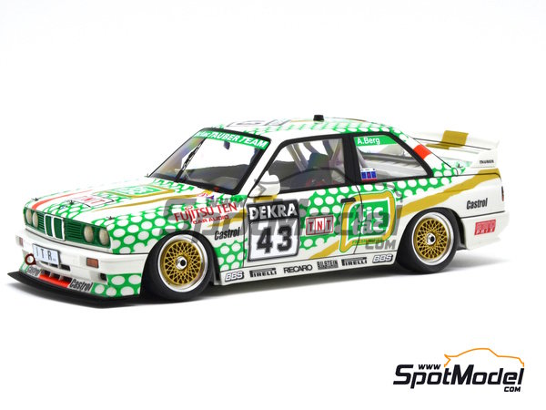 Image 13: BMW M3 E30 - DTM 1991 | Marking in 1/24 scale manufactured by Decalcas (ref. DCL-DEC005)