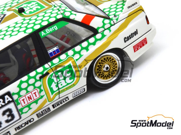 Image 16: BMW M3 E30 - DTM 1991 | Marking in 1/24 scale manufactured by Decalcas (ref. DCL-DEC005)