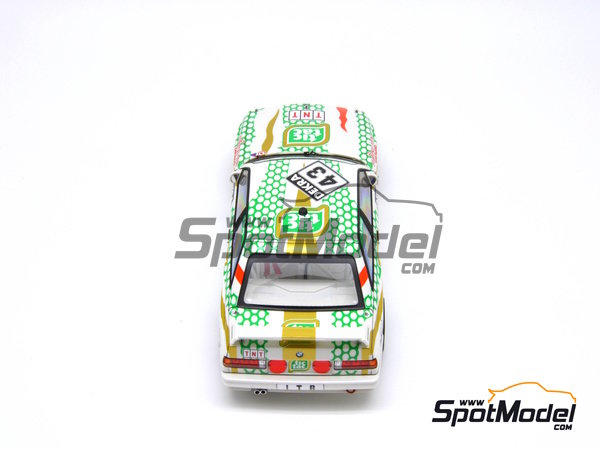 Image 19: BMW M3 E30 - DTM 1991 | Marking in 1/24 scale manufactured by Decalcas (ref. DCL-DEC005)