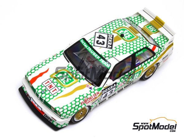 Image 20: BMW M3 E30 - DTM 1991 | Marking in 1/24 scale manufactured by Decalcas (ref. DCL-DEC005)
