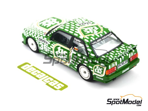 Image 2: BMW M3 E30 - DTM 1992 | Marking / livery in 1/24 scale manufactured by Decalcas (ref. DCL-DEC006)
