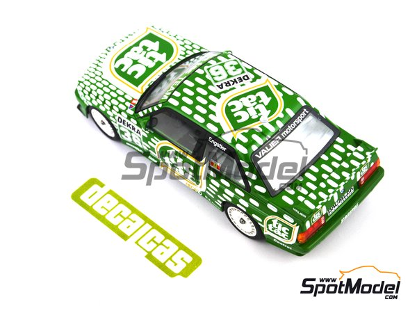 Image 5: BMW M3 E30 - DTM 1992 | Marking / livery in 1/24 scale manufactured by Decalcas (ref. DCL-DEC006)