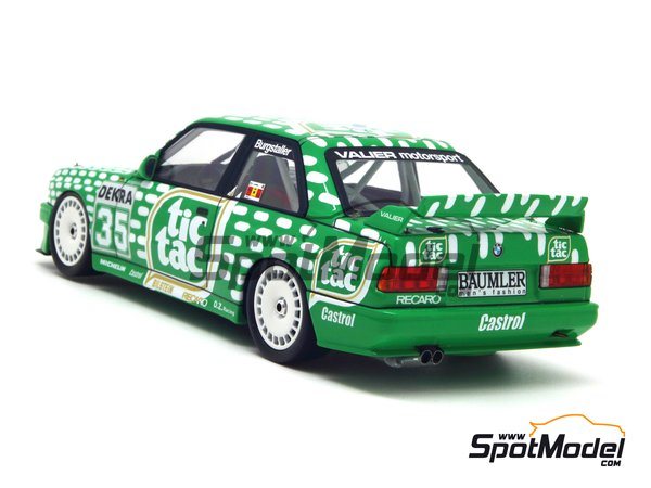 Image 6: BMW M3 E30 - DTM 1992 | Marking / livery in 1/24 scale manufactured by Decalcas (ref. DCL-DEC006)