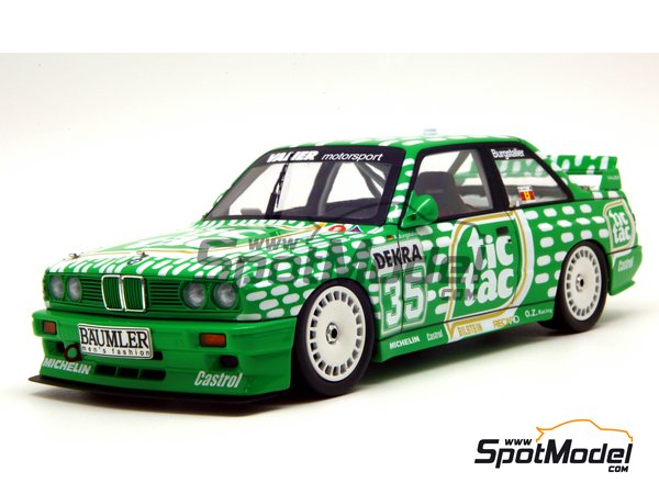 Image 8: BMW M3 E30 - DTM 1992 | Marking / livery in 1/24 scale manufactured by Decalcas (ref. DCL-DEC006)