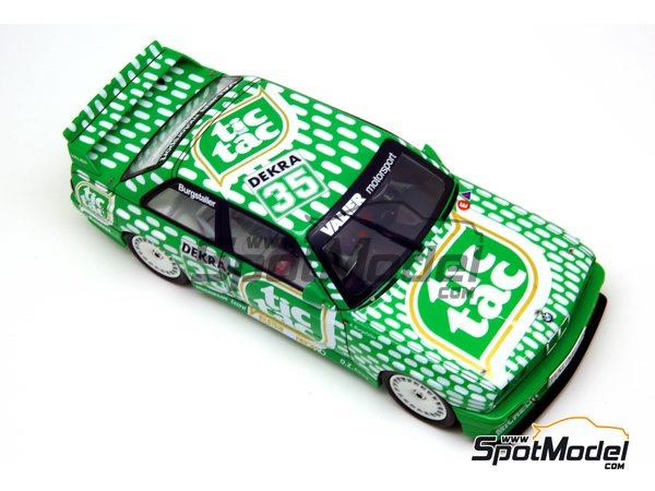 Image 9: BMW M3 E30 - DTM 1992 | Marking / livery in 1/24 scale manufactured by Decalcas (ref. DCL-DEC006)