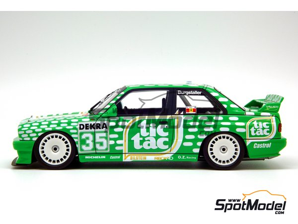 Image 10: BMW M3 E30 - DTM 1992 | Marking / livery in 1/24 scale manufactured by Decalcas (ref. DCL-DEC006)