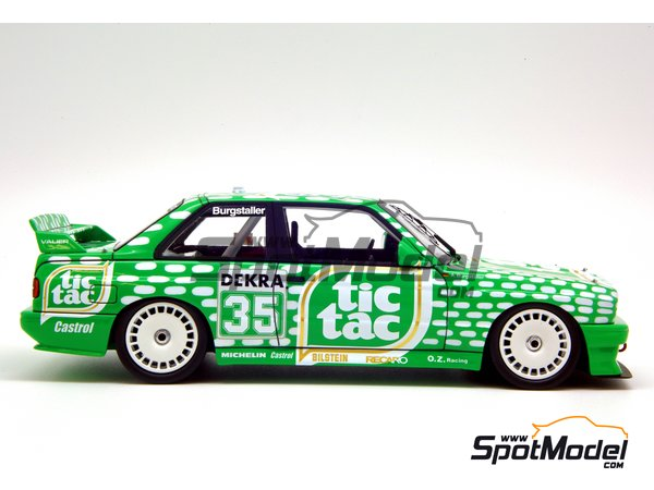 Image 11: BMW M3 E30 - DTM 1992 | Marking / livery in 1/24 scale manufactured by Decalcas (ref. DCL-DEC006)