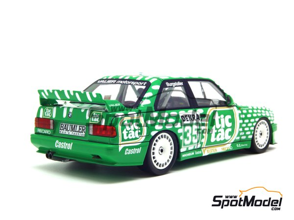 Image 13: BMW M3 E30 - DTM 1992 | Marking / livery in 1/24 scale manufactured by Decalcas (ref. DCL-DEC006)