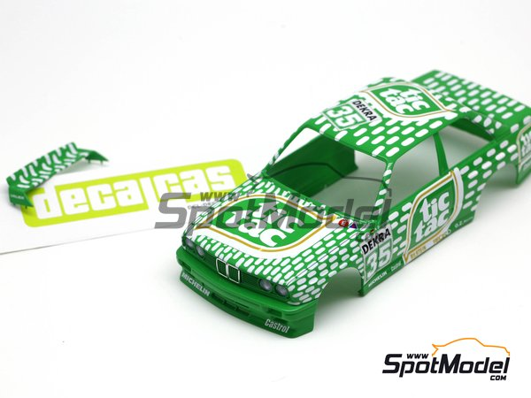 Image 15: BMW M3 E30 - DTM 1992 | Marking / livery in 1/24 scale manufactured by Decalcas (ref. DCL-DEC006)