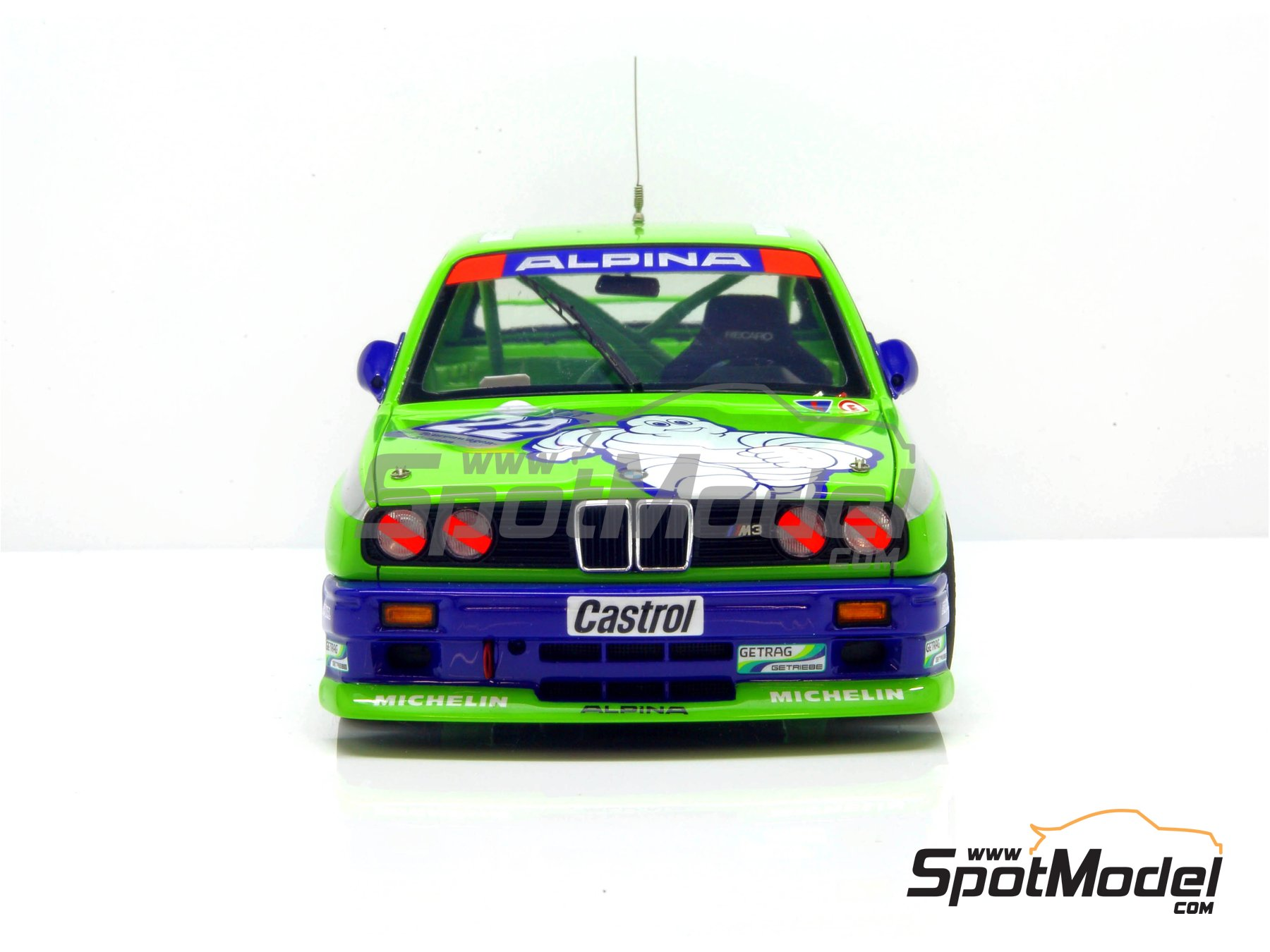 Image 16: BMW M3 E30 Team Alpina - DTM 1988 | Decoración en escala 1/24 fabricado por Decalcas (ref. DCL-DEC007)