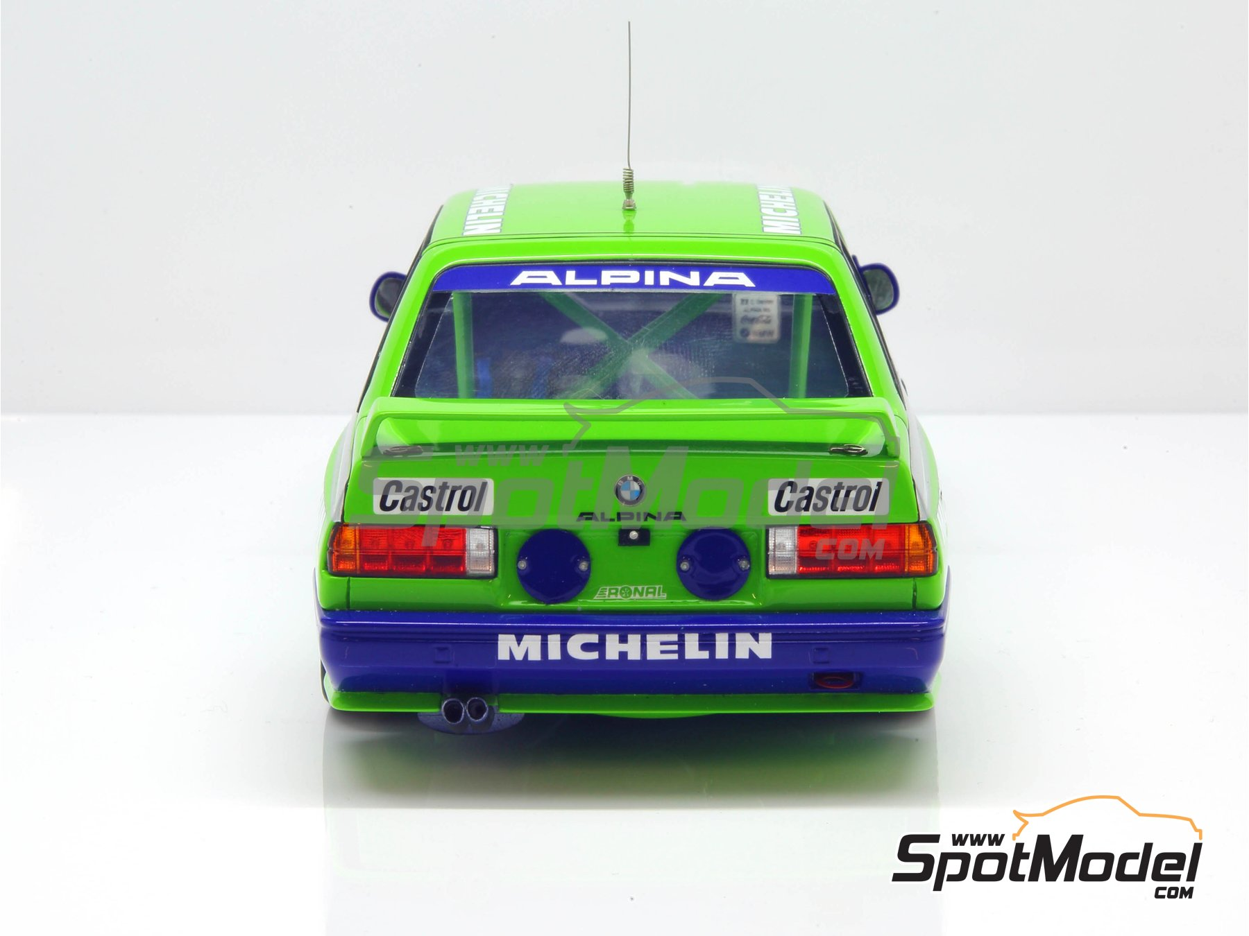 Image 19: BMW M3 E30 Team Alpina - DTM 1988 | Marking / livery in 1/24 scale manufactured by Decalcas (ref. DCL-DEC007)