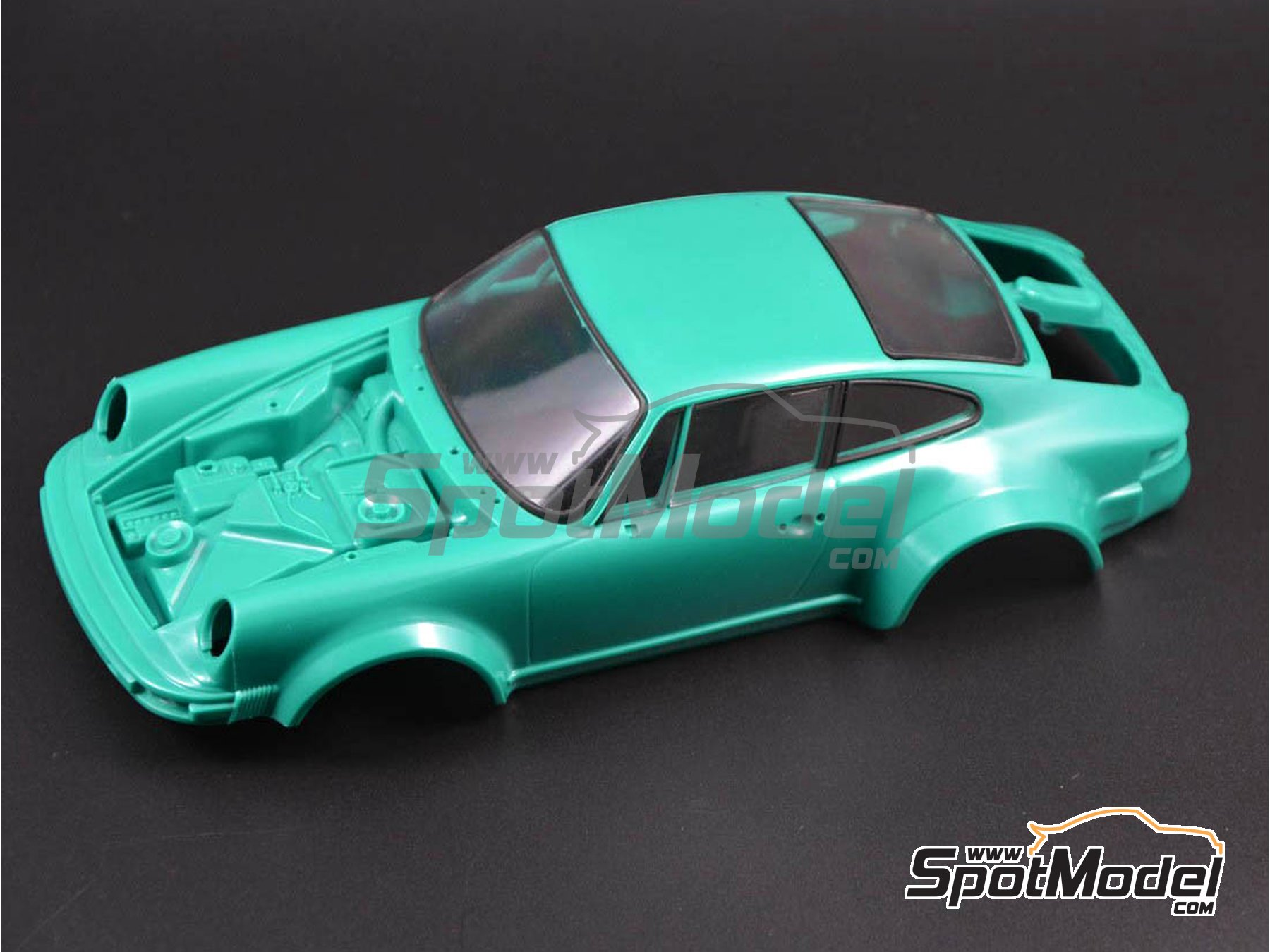 Image 2: Porsche 934 Turbo RSR Group 4 | Window frame paint masks in 1/24 scale manufactured by Decalcas (ref. DCL-MSK002)