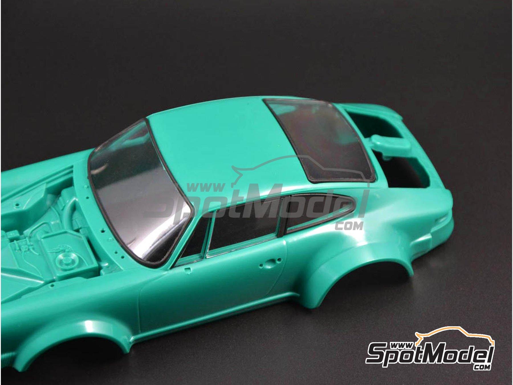 Image 3: Porsche 934 Turbo RSR Grupo 4 | Mascara de pintura para el marco de los cristales en escala1/24 fabricado por Decalcas (ref.DCL-MSK002)
