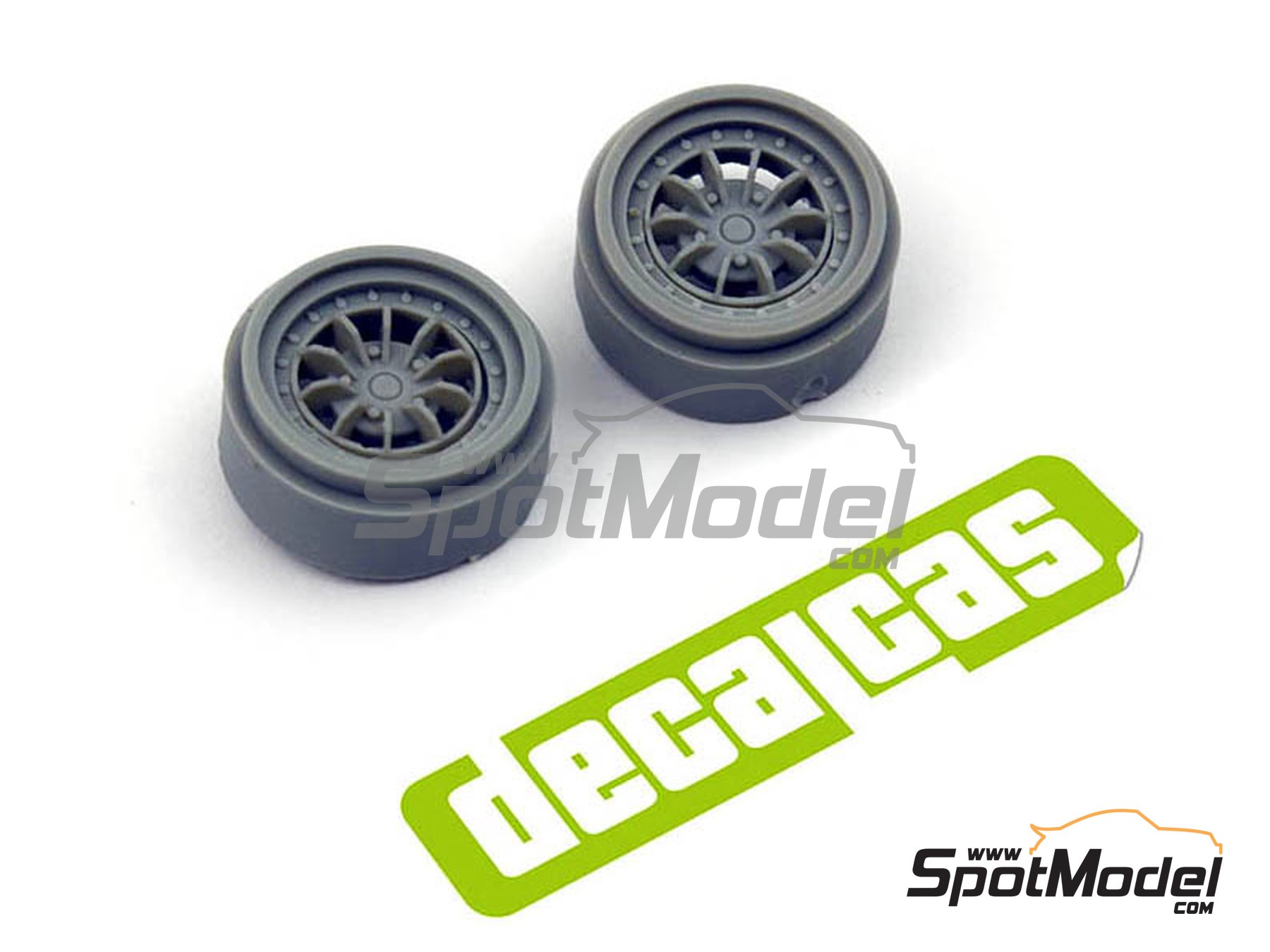 Image 4: Braid Serie 1 D155 16 inches | Rims in 1/24 scale manufactured by Decalcas (ref.DCL-PAR001)