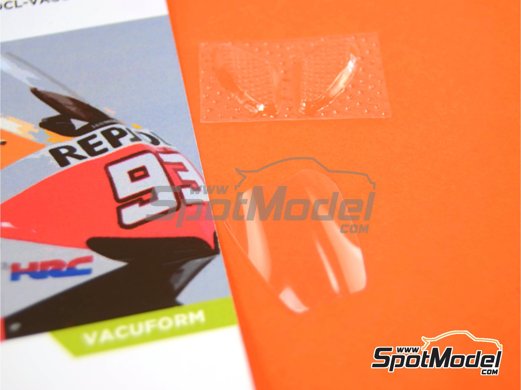 Image 10: Honda RC213V | Vacuum formed parts in 1/12 scale manufactured by Decalcas (ref.DCL-VAC001)