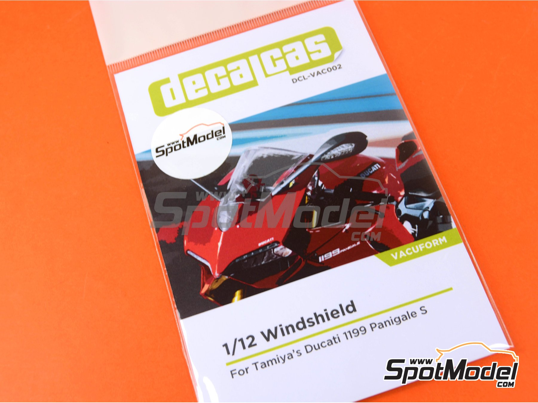 Image 6: Ducati 1199 Panigale S   Vacuum formed parts in 1/12 scale manufactured by Decalcas (ref.DCL-VAC002)